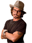 Johnny Depp PNG Transparent icon png