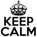 Keep Calm PNG Pic icon png