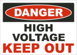 Keep Out Danger PNG File icon png