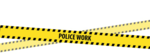 Keep Out Police Tape PNG Image icon png