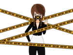 Keep Out Police Tape PNG Transparent Image icon png