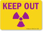 Keep Out Warning PNG Pic icon png
