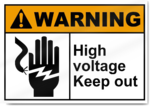 Keep Out Warning PNG Transparent Image icon png