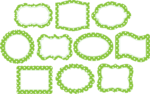 Lime Border Frame PNG Photos icon png