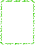 Lime Border Frame PNG Pic icon png
