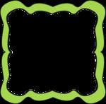 Lime Border Frame PNG Transparent Image icon png