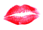 Lipstick Kiss Transparent Background icon png