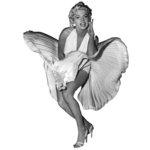 Marilyn Monroe PNG Photos icon png