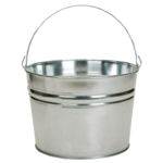 Metal Bucket PNG Transparent Image icon png