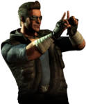 Mortal Kombat Johnny Cage PNG File icon png