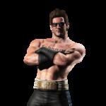 Mortal Kombat Johnny Cage Transparent Background icon png
