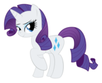 My Little Pony Rarity Transparent Background icon png