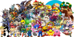 Nintendo Characters PNG Pic icon png