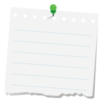 Note PNG Clipart icon png