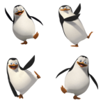 Penguins of Madagascar Transparent Background icon png