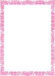 Pink Border Frame PNG Photos icon png