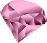 Pink Diamond Heart PNG Clipart icon png