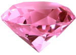 Pink Diamond Heart PNG File icon png
