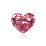 Pink Diamond Heart PNG HD icon png