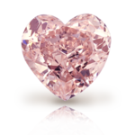 Pink Diamond Heart PNG Photos icon png