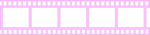 Pink Filmstrip Transparent PNG icon png