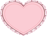Pink Heart PNG Clipart icon png