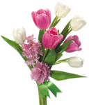 Pink Roses Flowers Bouquet PNG HD icon png