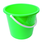 Plastic Bucket Transparent Background icon png