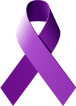 Purple Ribbon PNG Free Download icon png