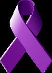 Purple Ribbon PNG Free Download icon png