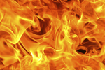 Real Fire Transparent Background icon png