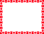 Red Border Frame PNG File icon png