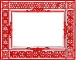 Red Border Frame PNG Transparent Picture icon png
