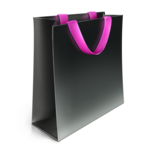 Shopping Bag Icon Black PNG icon png