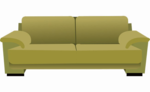 Sleeper Sofa Transparent PNG icon png