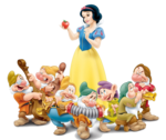 Snow White And The Seven Dwarfs PNG Photos icon png