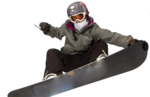 Snowboarding Jumping Transparent Background icon png