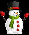 Snowman PNG Transparent Image icon png