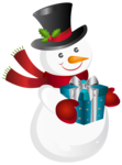 Snowman Transparent Background icon png