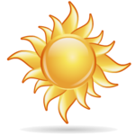 Sun PNG Clipart icon png