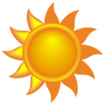 Sun PNG Free Download icon png