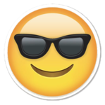 Sunglasses Emoji PNG Photos icon png