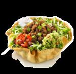 Taco Salad Tortilla Bowl PNG icon png