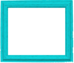 Teal Border Frame PNG Pic icon png