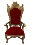 Throne Transparent Background icon png