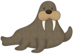 Walrus PNG Free Download icon png
