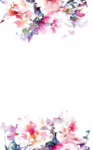 Watercolor Flowers PNG HD Quality icon png