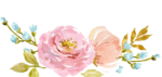 Watercolor Flowers PNG No Background icon png