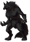 Werewolf PNG Transparent Image icon png