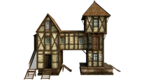 Wooden House PNG Free Download icon png